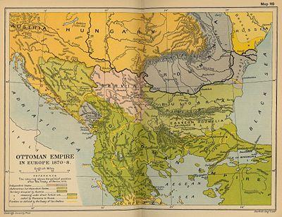 Територия на България установена от Берлинския конгрес