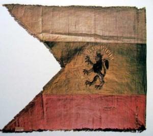Знамето, ушито от Стиляна Параскевова