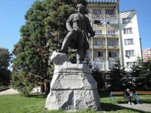 Паметникът на капитан Петко войвода в Хасково