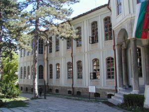 Сграда на Учредителното събрание във Велико Търново, където е създадена Търновската конституция.