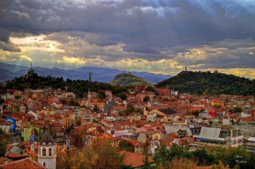 Трихълмието в Пловдив
