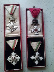 Ордени и медали на Б. Цонев