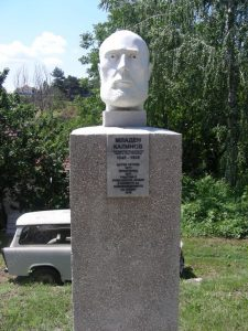 бюст ма Младен Калинов във Видин