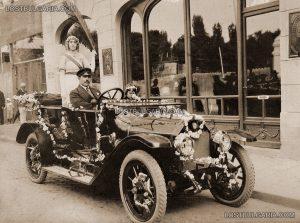София, началото на XX век - откриване на магазин на Александър Киров, официален вносител на Benz - България е в крачка със световните тенденции