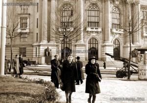 Сградата на Софийския университет, 30-те години.