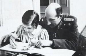 Цар Борис и малката Мария-Луиза