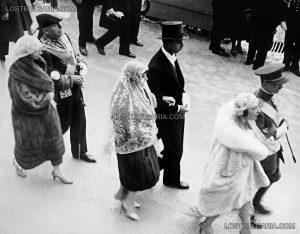 Мусолини на сватбата на цар Борис III; Източник: lostbulgaria.com