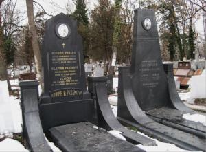 Гробът им в софийските централни католически гробища