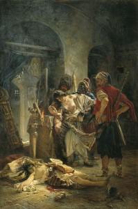 """""""Българските мъченици"""" - Константин Маковски."""