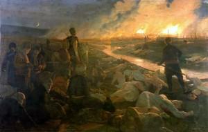 """""""Баташкото клане"""" на полския художник Антони Пьотровски"""