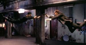 """Емблематичната сцена от """"Матрицата"""", в която са използвани ефектите, разработени от Георги Боршуков"""