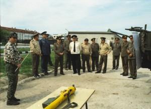 Снимка от военното поделение в Средец (преди Грудово) - в миналото едно от най-големите в България