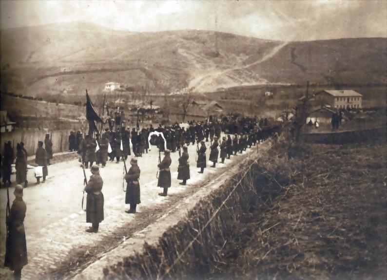 Погребението на майор Векилски