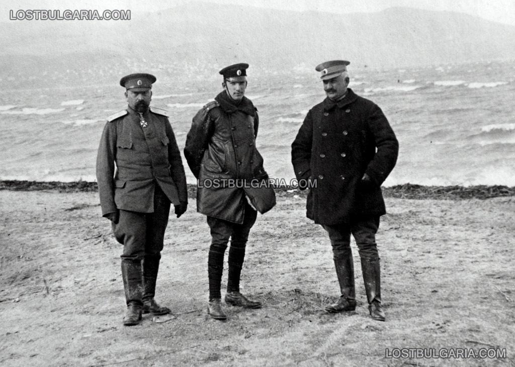 Княз Борис на служба като свързочик между щабовете при Дойран. снимка: www.lostbulgaria.com