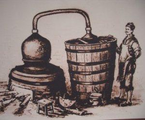 Традиционна дестилация на ракия