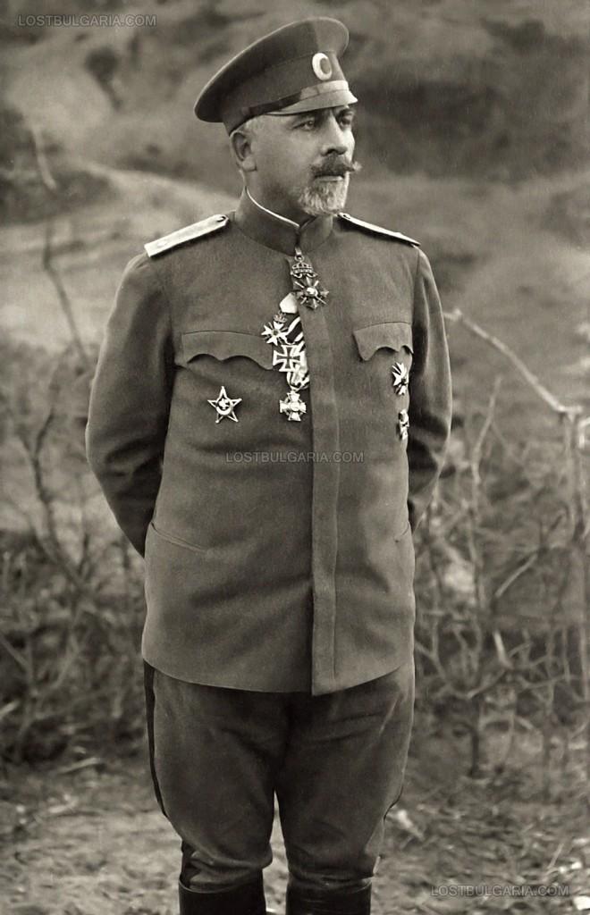Генерал Вазов – командван отбранителните войски при два от трите щурма на Дойран
