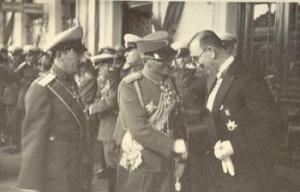 Цар Борис III и Кимон Георгиев, 1934г.