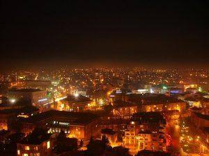 Хасково нощем - градът, в който Филип прекарва близо година