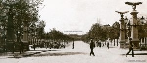 Орлов мост, 1906г. източник: www.lostbulgaria.com