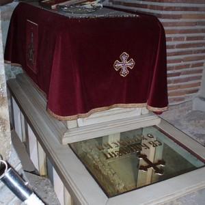 Гробът на Климент в Охрид