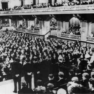 """""""Комедиан Хармонистс"""" на сцената на Белринската филхармония 1932 г.; Снимка: comedian-harmonists.de"""