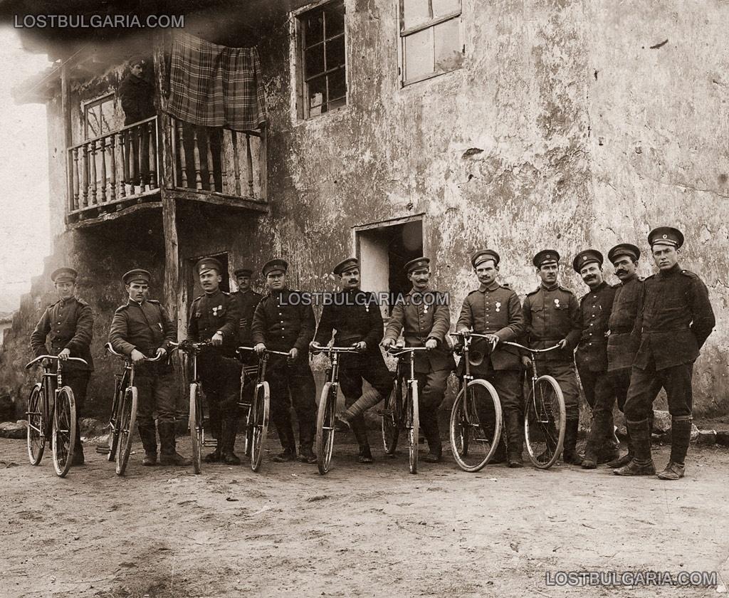 Битоля, колоездачната рота, 1916г.