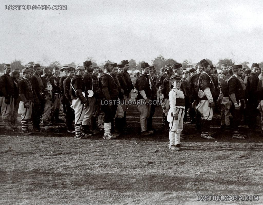 Балканската война, доброволна дружина от Дебър, 1912 г.