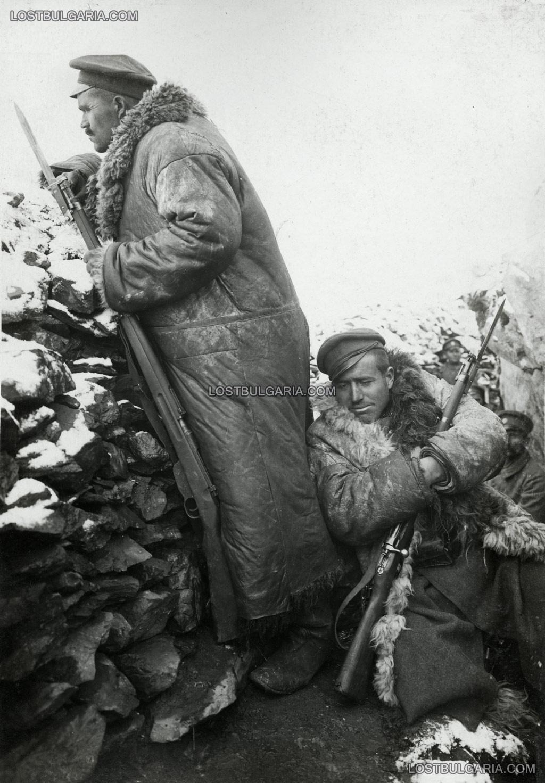"""Из частите на 3/6 бригада: Пост на """"Буджоите"""", 1917 г., Южния фронт"""