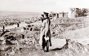 Генерал-майор Георги Тодоров в Солун през пролетта на 1913 г.