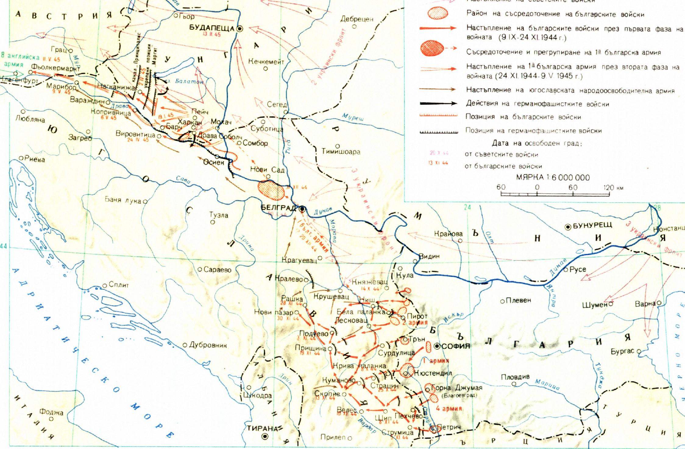 Uchastieto Na Blgariya Vv Vtorata Svetovna Vojna Poredniyat
