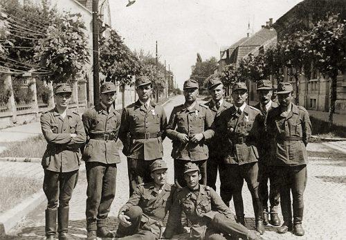 Български войници, участници в Мурската настъпателна операция
