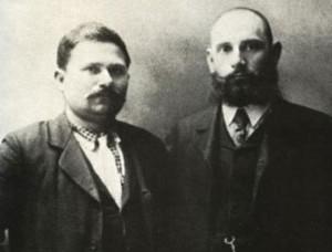 Яне Сандански и Христо Чернопеев