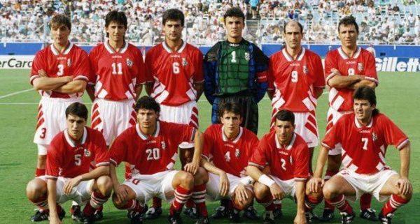 Българският национален отбор по футбол от световното в САЩ през 1994 година