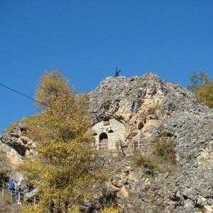 """Скалната църква """"Света Петка"""" край Трън"""