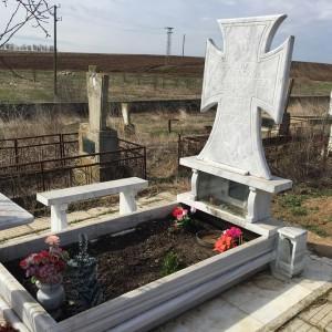 Гроб на баба Сребра в село Генерал Инзово