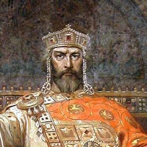 Цар Симеон - картина на Димитър Гюдженов