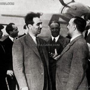 Кметът на София инж. Иван Иванов на посещение в Берлин, посрещнат от кмета Лудвиг Стег