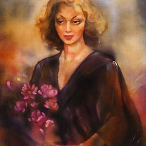 Портрет на Яна Язова от Людмила Поптошева