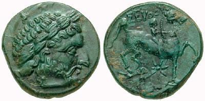 Монета на Севт III