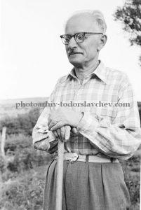 Димитър Талев през 1958 година. снимка: photoarhiv-todorslavchev.com