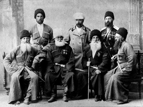 Осетинци, сражавали се в Руско-турската война 1877-78 г., като военна част в състава на руската армия