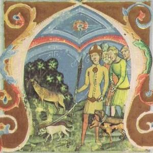 Унгарска фреска от XIV век