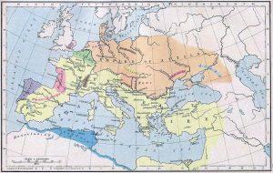 Хунаската империя при Атила