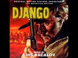 """Саундтракът на """"Джанго"""" с Франко Неро на обложката"""""""