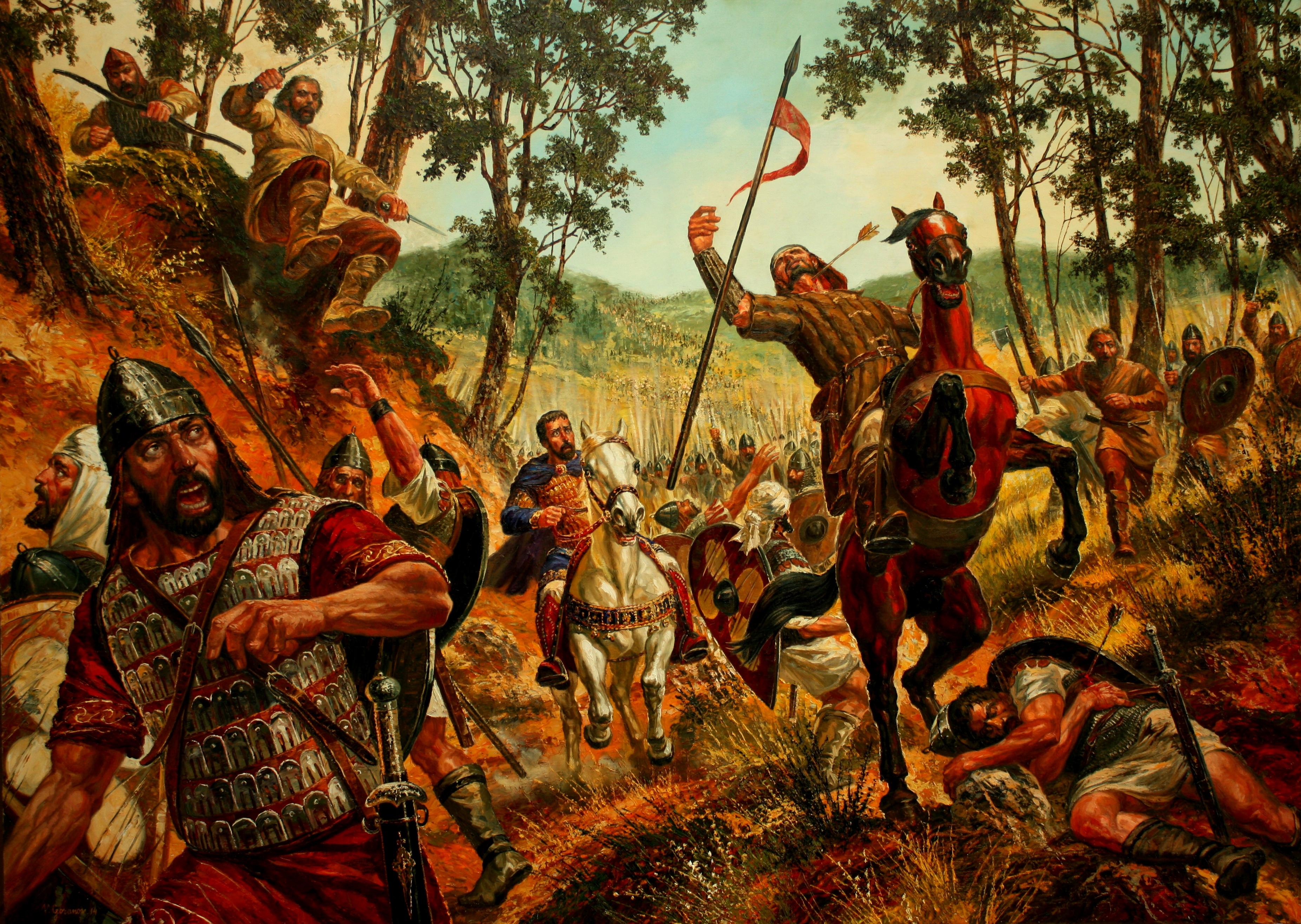 Резултат с изображение за Битката при Траянови врата
