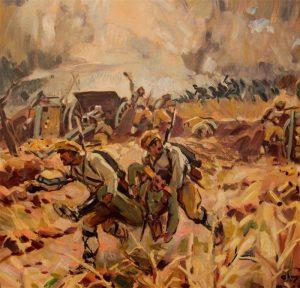 Изнасяне на ранен от бойното поле