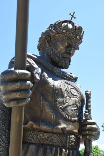 Паметник на цар Самуил в София