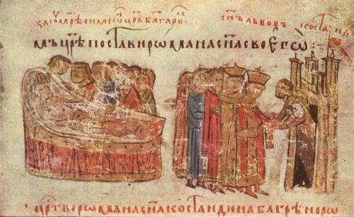 Смъртта на цар Петър