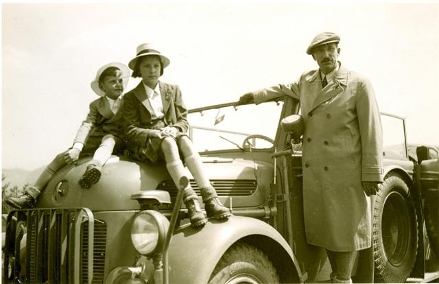 Семейна фотография, 1940 година.