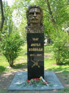 Паметник на Ангел войвода в Първомай